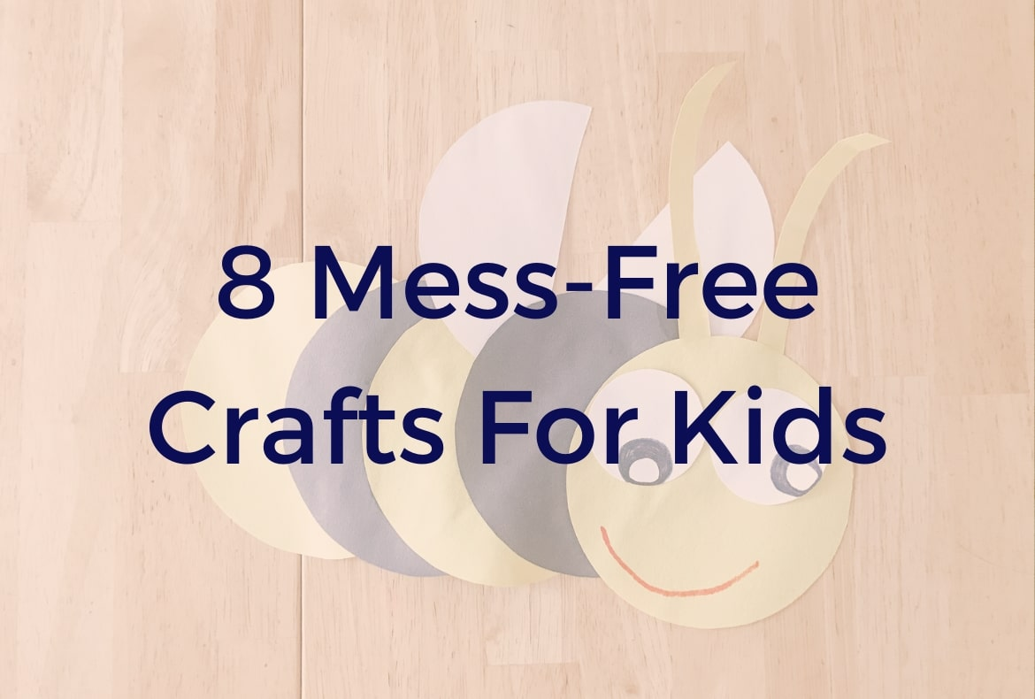 mess-free crafts feature