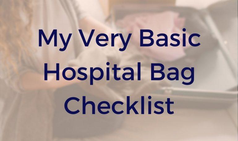 hospital bag - feature