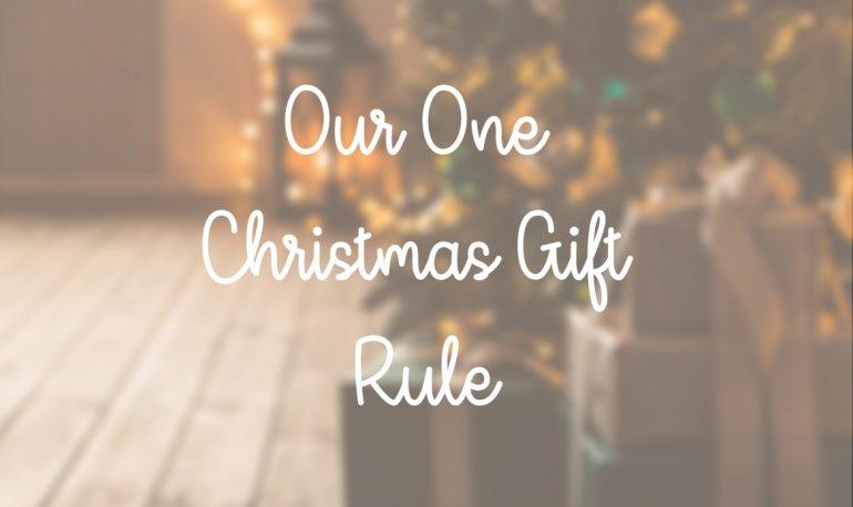 one christmas gift